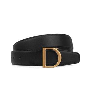Cinturón de alta calidad para mujeres con letras multicolores, cuero de moda y duradero 34 mm 3Z