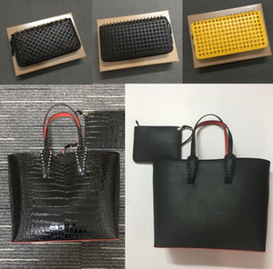 2pic / set mujeres hombres diseñador bolsas Platfor doodling marcas bolsos bolsos bolso compuesto bolso de cuero genuino bolso de lujo billeteras bolsas