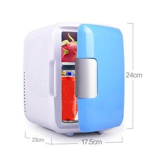 12V 4L Portable Home Low Noise Car Mini Refrigerators Freezer Cooling Heating Box Fridge