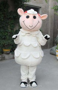 Австралийский овец талисман костюм мультипликационный персонаж Одежда для взрослых размер с высококачественным бесплатным кораблем