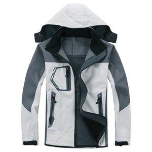 2021 мужские пальто роскошные повседневные зимние куртки мужской наружный ветровка сплошной цвет с капюшоном с капюшоном S-XXL