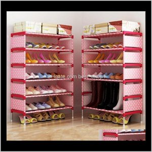 Boxes Storage Cabinet Fashion Closet Home Shoe Rack Kids Bedroom Organizer Sitting Room Nonwoven Shoes Shelf Holder Creative Q Cdg5N