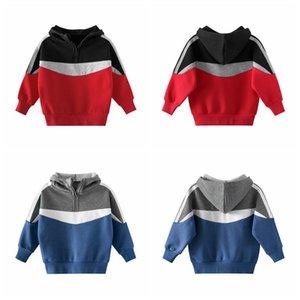 Hoodies for Baby Kids Designer Wool Coat Casual Long Sleeve Hooded Sweatshirts Fashion Boys Girls Blouse Streetwear CGY134