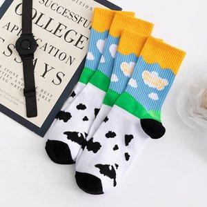 brand dunk Tide cow ice cream tide socks for men and women