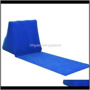 And Hiking Sports & Outdoors Drop Delivery 2021 Chair Waterproof Air Bed Lounger Cushion Travel Beach Mat Leisure Portable Outdoor Folding Ca