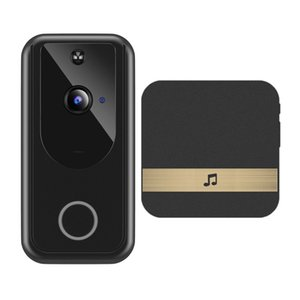 D1 Video Doorbell Camera 720P Wireless WiFi Smart Night Vision PIR Motion Detector+Indoor buzzer Exquisite retail packaging