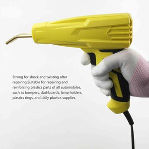 100W Handy Plastics Welders Garage Tools Hot Staplers Staple PVC Repairing Machine Car Bumper Stapler Welding Tool