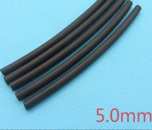 1m Heat Shrink Tubing Insulation Sleeving Heatshrink Tubing 125 Celsius Black Tube Wire Wrap Cable Kit Inner Diameter 5mm ZHL1126