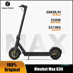 Original Ninebot MAX G30 Smart Electric Scooter foldable 65km Max Mileage KickScooter Dual Brake Skateboard With APP