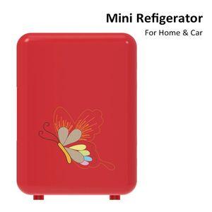 Mini Car Fridge Cooler Box Freezers Portable Refrigerator Electric Cool Warm For Travel