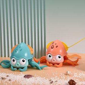 Novelty Games Water Land Octopus Transmission Clockwork Educational toys Parent-child interaction outdoor Holiday gifts