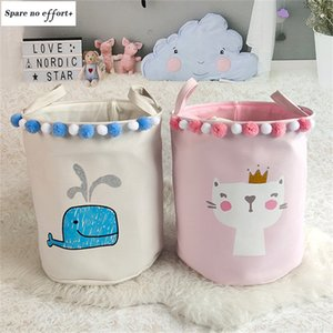 Box Children's Toys Organizer Storage Cute Animal Patterns Storage and Organization Clothing Store Model Room Available