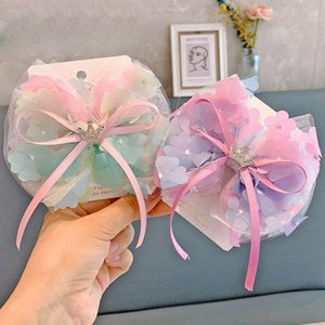 Girls Hair Accessories HairClips Kids Barrettes Headbands For Children Lace Flower Princess Crown Baby BB Clip B4669