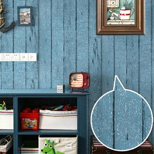Wallpapers Waterproof Self Adhesive Wallpaper Contact Paper Wood For Bedroom Wardrobe Sticker Furniture Home Improve