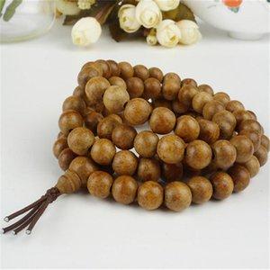 Ly 9 ملليمتر الطبيعية agarwood aloeswood البخور النساء الرجال مجوهرات حزام جولة الأزياء الصلاة الخشب الخرز أساور مطرز، فروع
