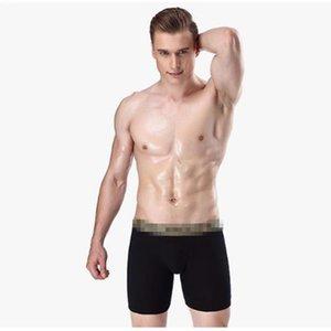 3 pçs / lote Dos Homens Underwear Alta Qualidade Sexy Homens De Algodão Respirável Mens Cueca Boxers Underwear Masculino