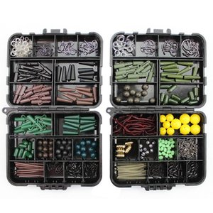 189pcs box Portable Fishing Tackles Box Accessories Kit Set For Carp Bait Lure Ice Winter Accessoire Tool Sets