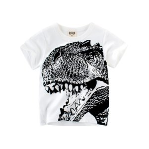 Маленький мальчик динозавр с коротким рукавом футболки Tee Tee