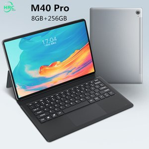 Tablets 8GB RAM 256GB Rom M40 Pro 10.1 '' Tablet 1920x1200 Octa Core Android 10 Tablet Android 5G Network Dual WiFi Tablette PC