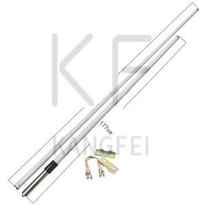 2021 High Quality KF UHF 4m Double Section FRP Antenna Factory Outlet