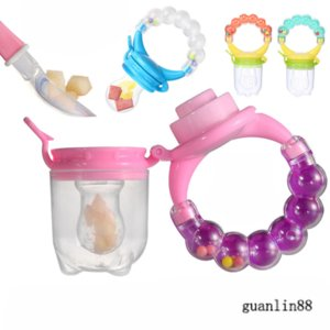 Pacifier Newborn Safe Baby Feeding Pacifier Fruit Vegetable Feeder Child Trainning Tool Fresh Food Feeder Bell Toy