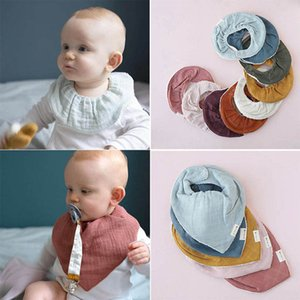 Baby Bibs Feeding Burping Cloths Boy Accessories Cotton Toddler Infant Clothing B4657