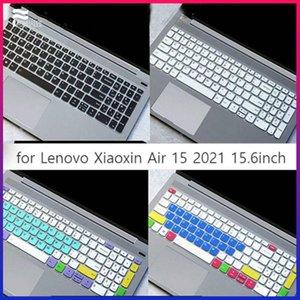 Клавиатурные крышки для Lenovo Xiaoxin Air 15 2021 15.6 дюймов Крышка кожи Мягкая пленка Силиконовая анти-пыль Прозрачный TPU TPU ThinkBook15p
