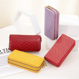 Coins keys bag wallet purse holder Woman and Child small brand Clutch Bags holds high quality famous classical designer handbags double zipper bag pouch change