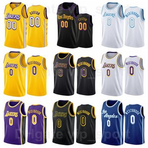Man Woman Youth Jared Butler Printed Basketball Jersey Russell Westbrook Team Color Yellow Black White Blue Purple Vintage Breathable Retro For Sport Fans Shirt