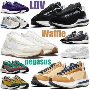 2020 sacai waffle VaporWaffle pegasus fragment chunky dunky ldv Tour Желтая мужская женская обувь белые нейлоновые мужские женские кроссовки спортивные кроссовки