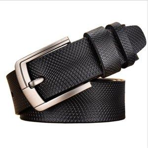 Men Designers Belts Luxury Brand Belts for Men Pin Buckle Designer High Quality Snake Design Fashion Business Genuine Leather B