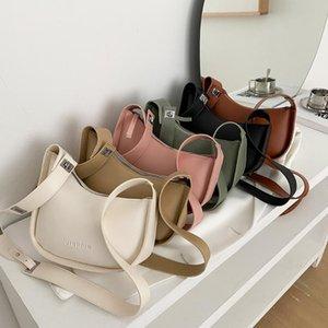 Shoulder Bags Ladies Baguette Small PU Leather For Women Chain Handbag Female Travel Top-Handle Handbags
