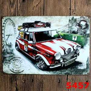 Metal Tin Signs Sinclair Motor Oil Texaco poster home bar decor wall art pictures Vintage Garage Sign Man Cave Retro Signs EEB6423