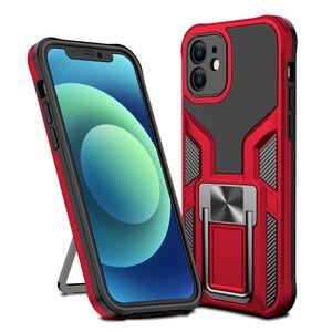 Authentic Sargento Armadura Estuches TPU + PC + Metal 3 en 1 Funda para teléfonos móviles para iPhone 12 Mini 11 Pro Max X XS XR 7 8 SE2020 Google Motorola