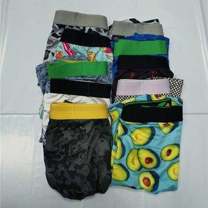 Qucik Kuru Erkek Iç Çamaşırı Külot Boksörler Şort Modal Hayvan Baskı Eşcinsel Erkek Ceuca Boxer Plaj Pantolon Nefes Örgü Adam Mayo Rastgele Renkler