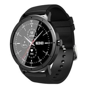 HW21 1.32 дюйма смарт-часы женские женские частоты сердечный монитор полноэкранные сенсорный фитнес-группа мужская водонепроницаемый SmartWatch спорт для iOS Android