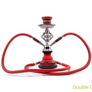 Hookah Arabian cigarette pot set small single double tube mahjong hookah