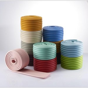 Corner&Edge Cushions 2M Children Protection Table Guard Strip Baby Safety Products Glass Edge Furniture Horror Crash Bar Corner 12 Colors