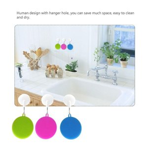 Cleaning Cloths Multi-purpose Safe Silicone Brush Mat Pads Heat-Resistant Dish Washing Cleaner Scrubber For Kitchen Supplies