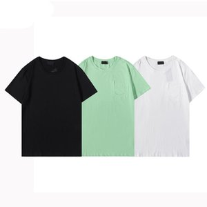 Summer Short Sleeve Tee Top European American Designer Letter Print T-shirt Men Women Couples High Quality Tees Shirts S-XXL