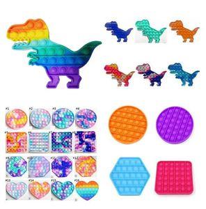 Push Bubble Sensosy Toy Autizs нуждается в Squishy Stress Reliever игрушки для взрослых ребенк смешной антистремистый IT FIDGET RESSIVES FY4433