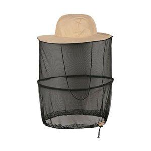 Открытый Дышащий 360 Москитная Шляпа Рыбалка Зонтик Солнцезащитная Защита Для мужчин Женщины Туризм Кемпинг Капс Шляпы