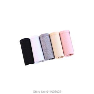 Women's Panties 5pcs Lot Value Package Milk Shreds Women Briefs Young Girl Underwear Solid Color Cotton