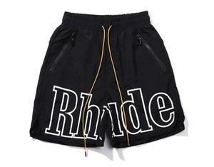 Men's Swim Trunks Quick Dry Beach Shorts Superior Reflection Fashion Surfing Letter Printed Men Gym Short Pants