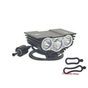 Солнечность X3 T6 головки велосипедного света 6000 LM XM-L 3T6 LED 4 режимов велосипедный светильник