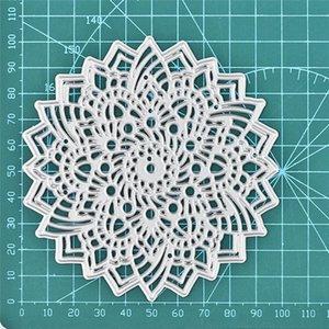 Painting Supplies DiyArts Flower Metal Cutting Dies For Card Making Scrapbooking Embossing Background Frame Die Cut Craft 2021