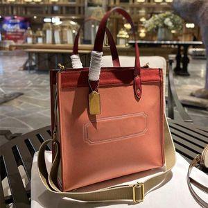 Tote сумки сумки, путешествующие сумки модные буква печатание высокой емкости интерьера на молнии зерна кожаный съемный широкий плечо