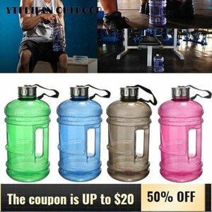 2.2L grande grande grande sport da esterno palestra mezzo gallone fitness formazione fitness campeggio in esecuzione ad allenamento per bottiglie di bottiglie per bottiglie d'acqua gabbie