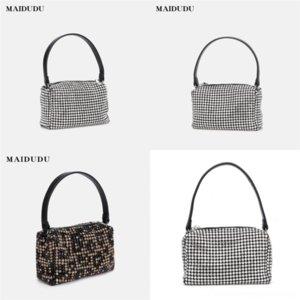 U2F4X Göttin Mode 2020 Kette Handtasche Anhänger Handtasche Kleine Square Tasche, Luxus, One-Shoulder Die Mode und Klassische Ausgehen Sie Womens