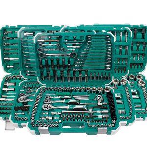 Tool Organizers Professional Box Car Repair Socket Set Ratchet Wrench Spanner Rotary Ferramentas Combination Hand Tools